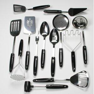 13piece select stainless steel kitchen utensil set
