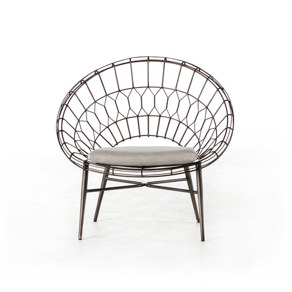 Wanaque Rattan Patio Chair by Bungalow Rose