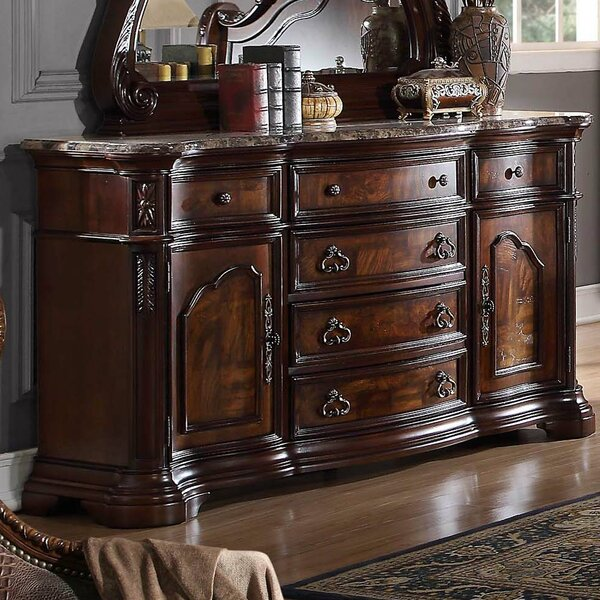 Waldrep 6 Drawer Combo Dresser by Astoria Grand