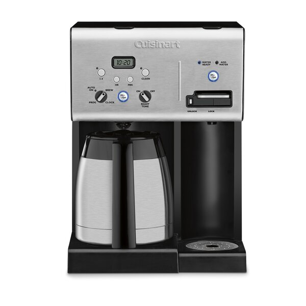 10-Cup Thermal Programmable Coffee Maker by Cuisin