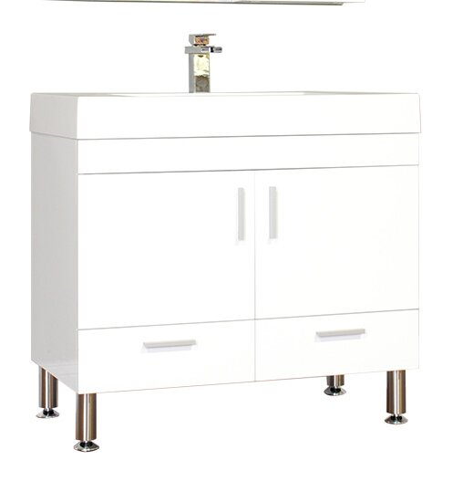Waldwick 35 Single Bathroom Vanity Set by Wade Logan