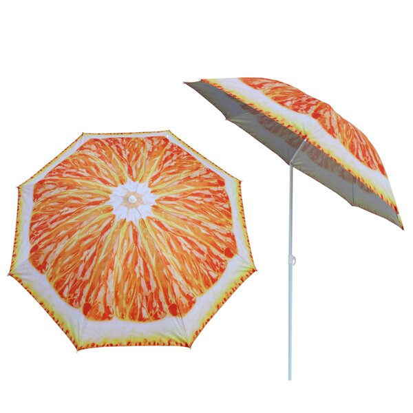 Zuniga 5'2-inch Beach Umbrella by Rosecliff Heights Rosecliff Heights