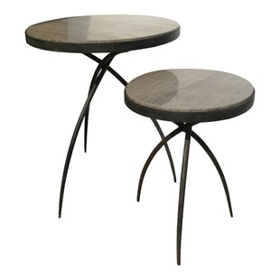 Tripod End Table with Marble Top
