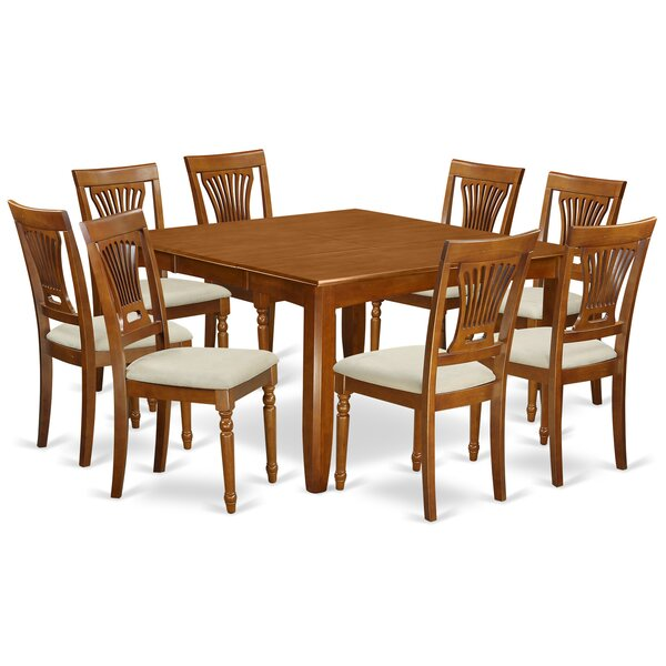 Parfait 9 Piece Dining Set By Wooden Importers Best Design