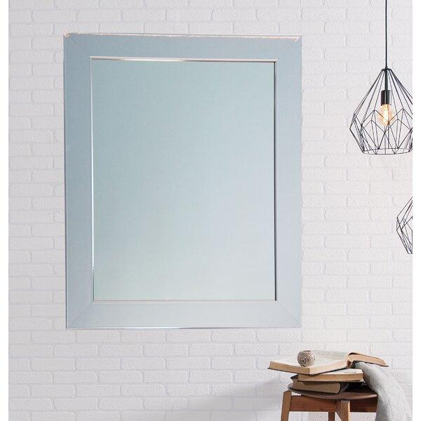 Modern American Chrome Wall Mirror by Brandt Works