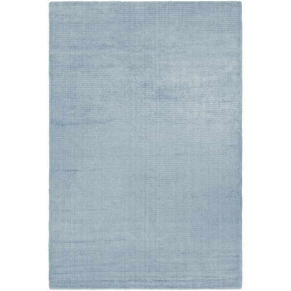 Alyson Hand-Loomed Ice Blue Area Rug by Orren Ellis