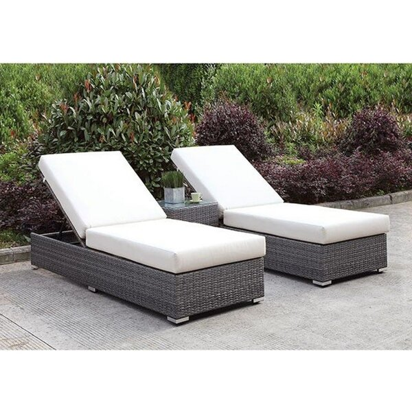 Shearin 2 Adjacent Chaise with End Table (Set of 3)