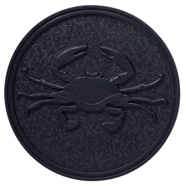 Crab Stepping Stone by Home Furnishings by Larry Traverso