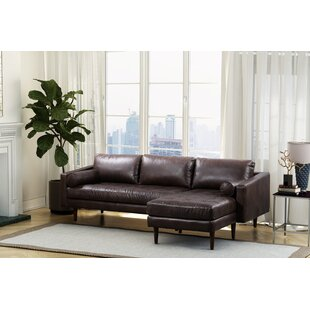 Kate Leather Sectional
