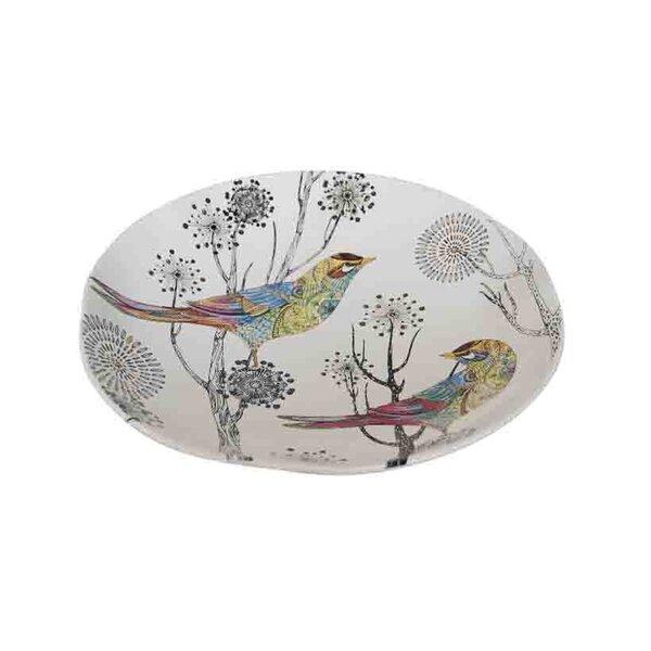 Pfannenstiel Dolomite Decorative Plate with Bird by August Grove