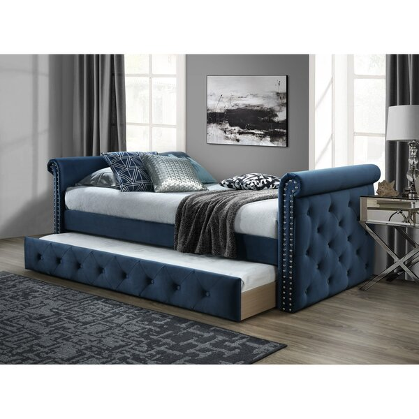 Seddon Twin Daybed with Trundle by Canora Grey Canora Grey
