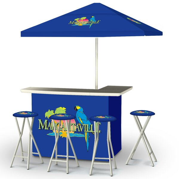 Margaritaville 8 Piece Bar Set by Best of Times