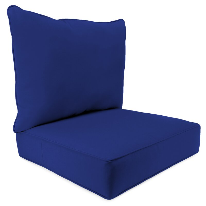 2 Piece Indoor/Outdoor Chair Cushion Set