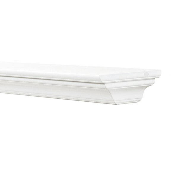 The Crestwood Fireplace Shelf Mantle by Pearl Mantels