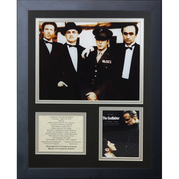 The Godfather Framed Photographic Print by Legends Never Die