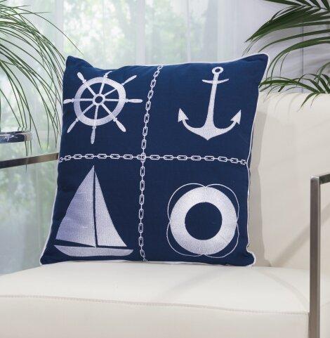 Burnsville Outdoor Acrylic Throw Pillow by Breakwater Bay