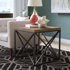 Mercury Row Shuffler End Table