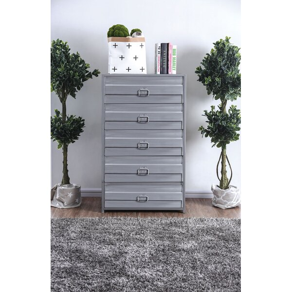 Lancaster 5 Drawer Chest by 17 Stories