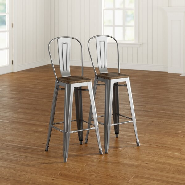 Fortuna 29.5 Bar Stool (Set of 2) by Trent Austin