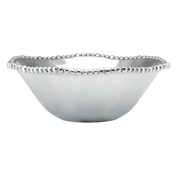 Organics Bead Metal Bowl by Lenox