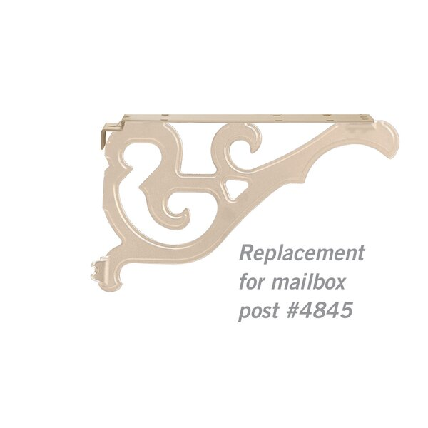 Arm Kit Replacement Side Bracket by Salsbury Industries