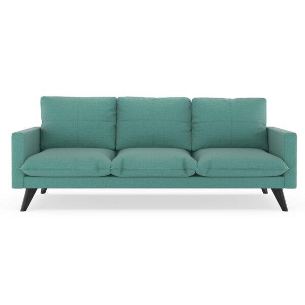 Crabb Linen Weave Sofa by Corrigan Studio
