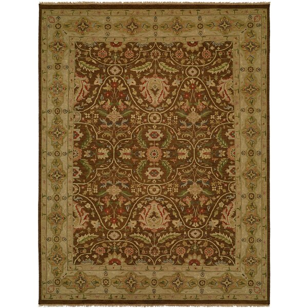 Dumka Hand-Knotted Fall Sienna Area Rug by Meridian Rugmakers