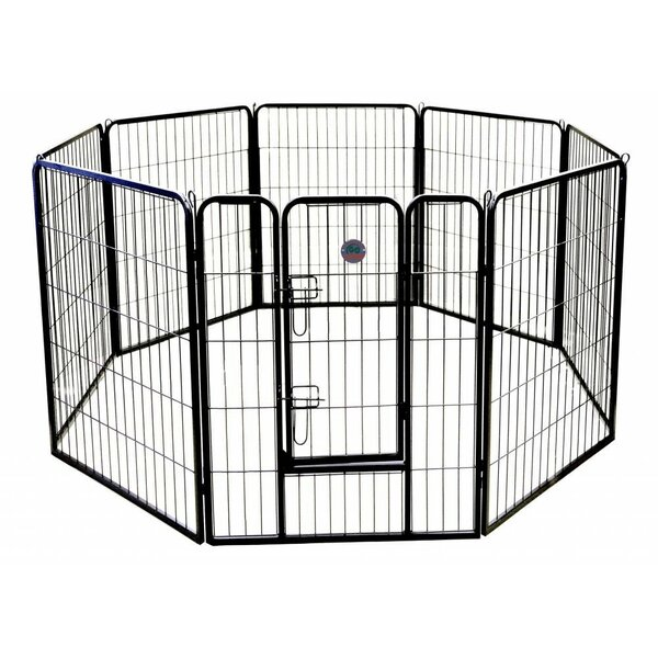 Heavy Duty Play and Exercise Pet Pen by Go Pet Club