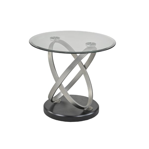 Sceinnker End Table by Orren Ellis