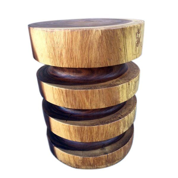 Clintonville Natural Ring End Table by Foundry Select