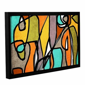 Vibrant Colorful Abstract 11 Framed Graphic Art by Latitude Run
