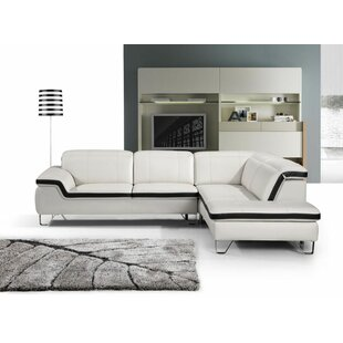 Zion Leather Sectional