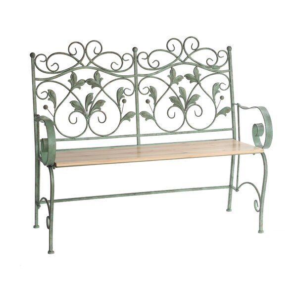 Ciara Iron Garden Bench by August Grove