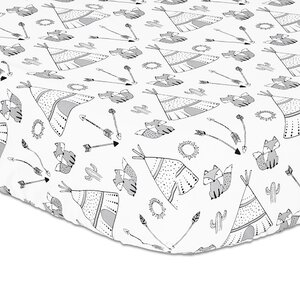 Southwest Fitted Crib Sheet