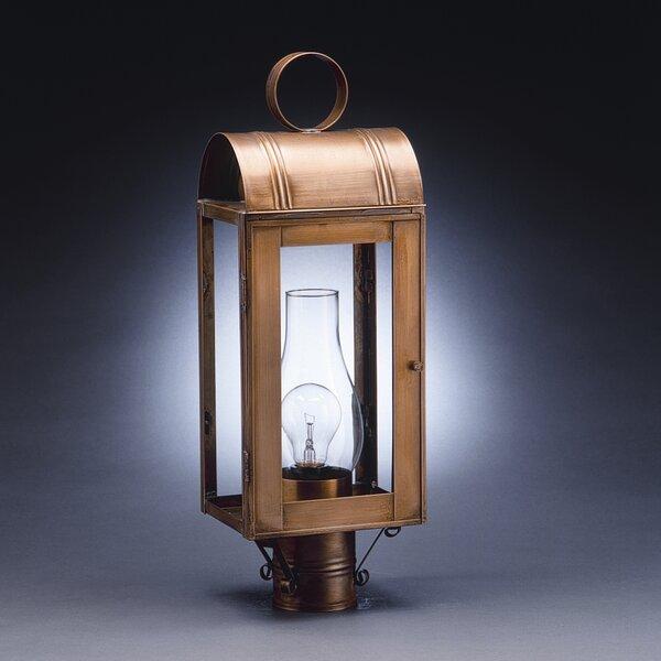 Livery Chimney Culvert Top 1-Light Lantern Head by Northeast Lantern