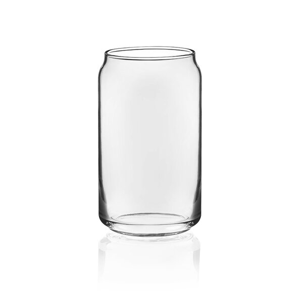 Classic Can 16 oz. Glass Every Day Glasses (Set of 4) by Libbey