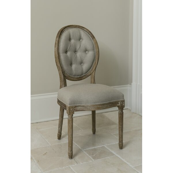 King Louis Side Chair by The Bella Collection