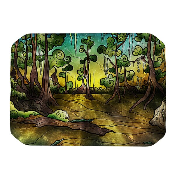 Alligator Swamp Placemat by KESS InHouse