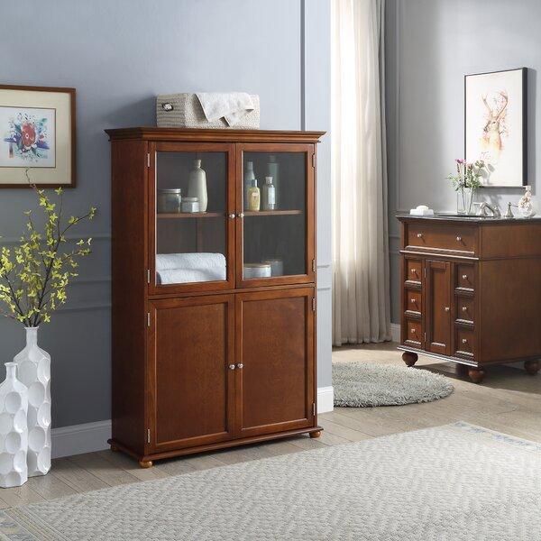 LaMattina 36 W x 53 H x 14.02 D Free-Standing Bathroom Cabinet