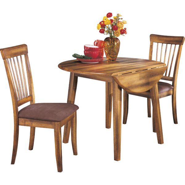 Kaiser Point 3 Piece Drop Leaf Dining Set by Loon Peak