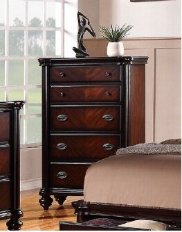 Farrer 5 Drawer Chest by Astoria Grand