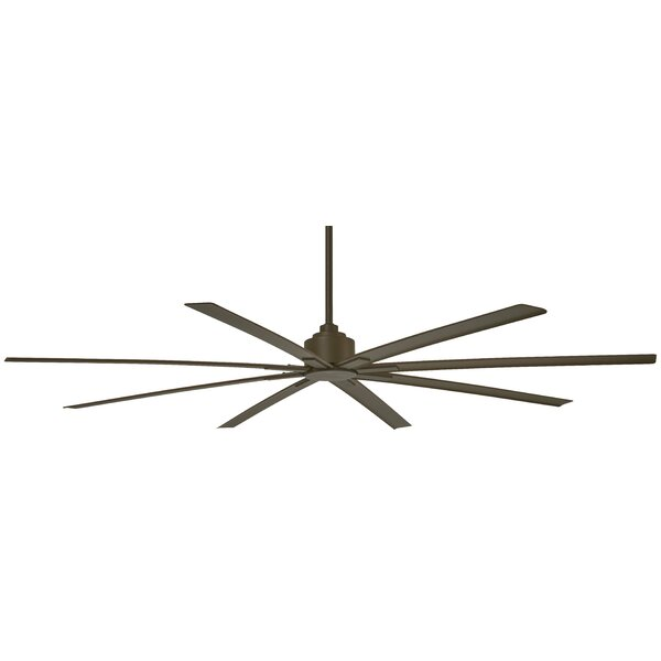 84 Xtreme 8 Blade Outdoor Ceiling Fan with Remote by Minka Aire