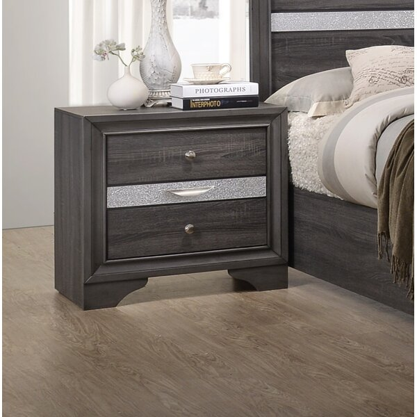 Logan 3 Drawer Nightstand by MYCO Furniture
