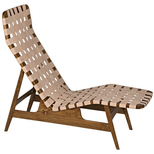 Abe Chaise Lounge By Noir