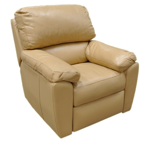Vercelli Leather Recliner by Omnia Leather