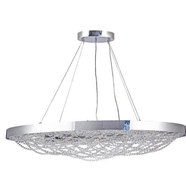 Mcquade 24-Light LED Unique / Statement Geometric Chandelier By House Of Hampton