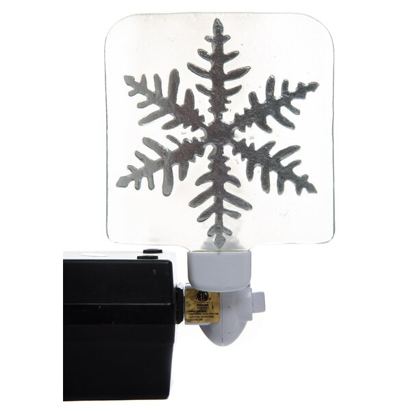 Christmas Snowflake Night Light by Transpac