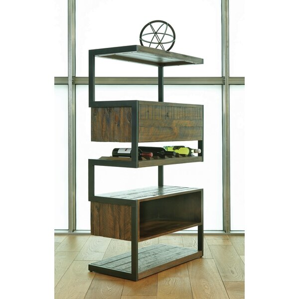 Audio Geometric Bookcase by 17 Stories