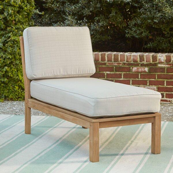Summerton Teak Chaise by Birch Lane™