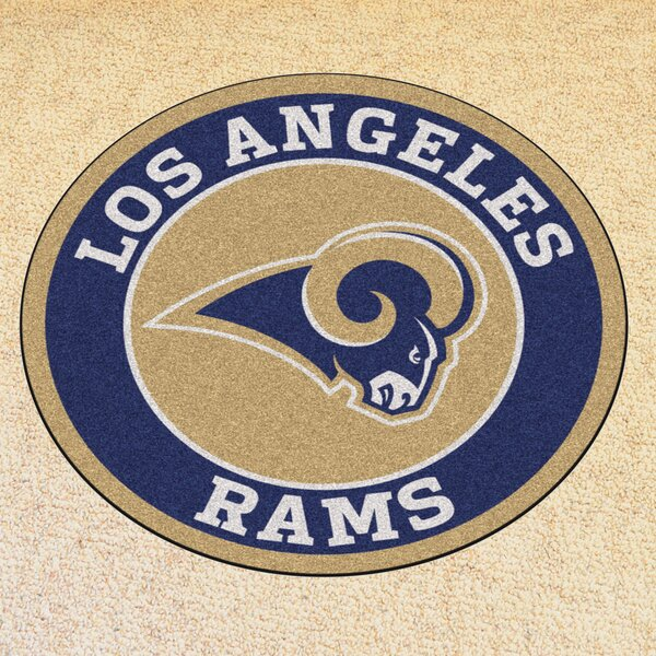 NFL Los Angeles Rams Roundel Mat by FANMATS